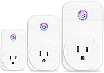 3-Pack Xuntiy Wifi Smart Plug