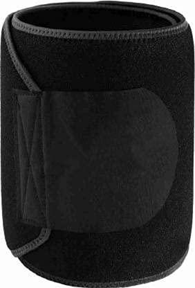 Snakx Waistcincher Sweat Belt   Pack of 1   Multicolor   Sports Wear Black