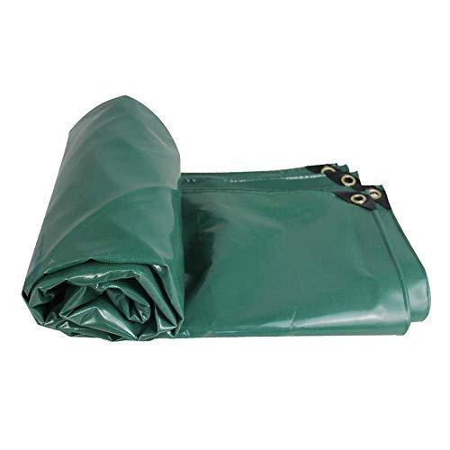 Lona resistente al agua de 520 g, para camping, pesca, jardinería, mascotas (color: A, tamaño: 3 y veces; 4 m)