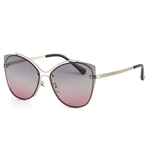 XFSE Gafas de Sol UV400 HD Gafas De Sol Polarizadas Fashion Lady Driver con Gafas for Exteriores (Color : Pink)
