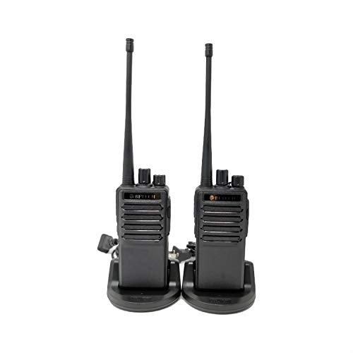 BFTECH BF-V8S Two Way Radios Long Range Walkie Talkie Handheld Radio with Earpiece IC Certified:25769-BFV8S(Pack of 2)