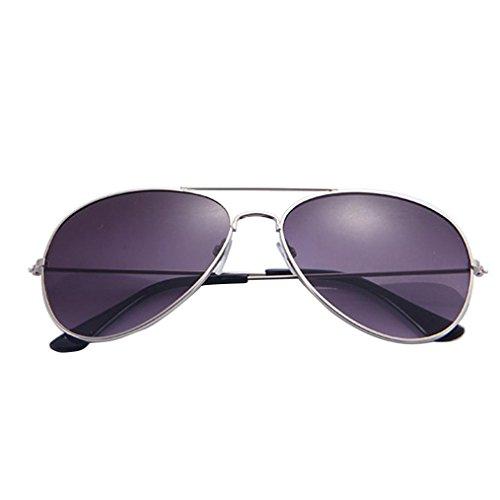 Gafas de Sol Mujer, ❤️Xinantime Hombres Mujeres Gafas Transparente 2018 Moda Hot Men and Women Classic Metal Designer Sunglasses Nuevo Gafas de sol atmosféricas avanzadas (❤️A)