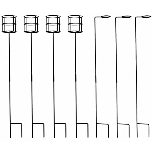 BESPORTBLE 7 Pcs Wine Stakes Beverage Drink Holder Wine Glass Holder Practical Cup Racks Outdoor Accessories