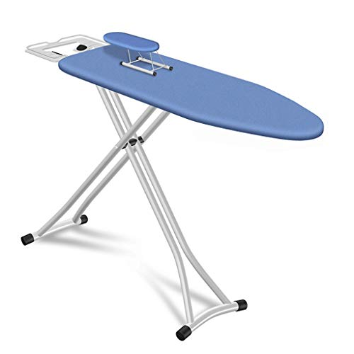 KangJZ-Tables Robuuste grote strijkplank, ademend paneel-inklapbare beugel stand huis woonkamer ligstoel strijkplank afmetingen: 140 * 38 * 75-92 cm comfortabele opslag