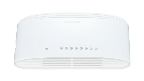 D-Link Systems  8 Port- Gigabit dekstop switch (DGS- 1008D )