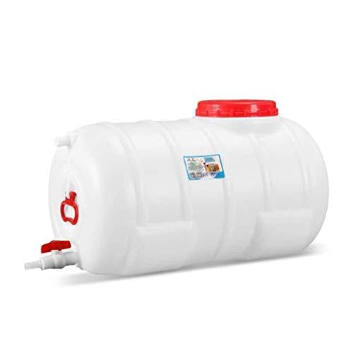 Bbhhyy Wasserbehälter, Kunststoffeimer Wasserturm Thick Wassertank Mit Wasserhahn Aus Kunststoff Wassertank Mit Deckel Landwirtschaft Technischer Lagerung (Color : 79x47x47cm (125L))