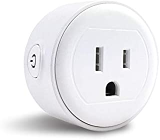 Greendot Wifi Smart Plug Mini, Smart Home Power Control Socket, Remote Control Your Household Equipment from Everywhere, No Hub Required, Compatible with Alexa and other assistant (1 Pack)