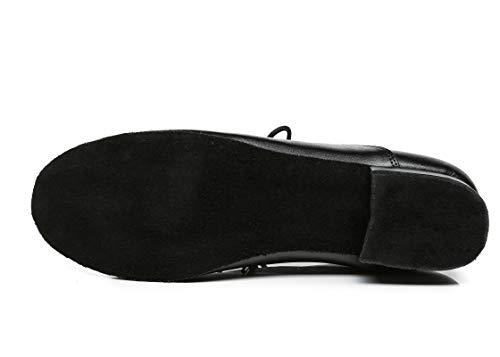 Minitoo ,  Herren Tanzschuhe , Schwarz – schwarz – Größe: 42.5 - 5