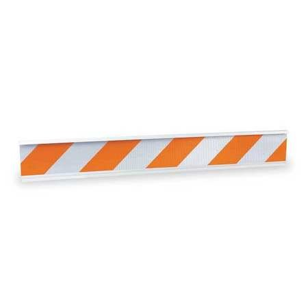 Orange 2 in Super Special SALE held Width 4 Lb 8 Length low-pricing Barricade Weight Beam 72