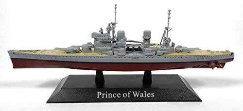 DeAgostini Prince of Wales 1941 Battleship 1/1250 WS70