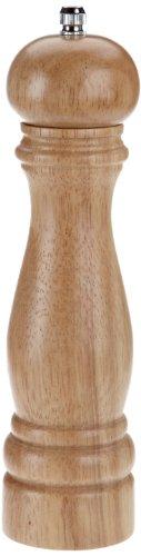 Kesper 13661 - Molinillo de Pimienta, Madera Maciza Clara (Altura de 22,0 cm, diámetro de 5,5 cm)