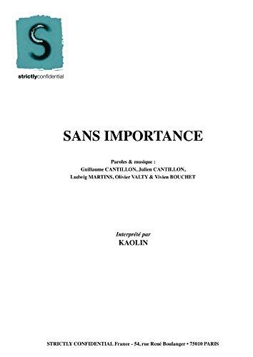 SANS IMPORTANCE