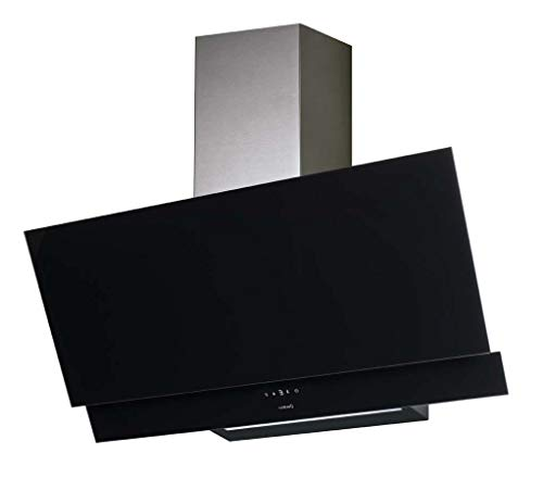 CATA JUNO 600XGBK 575 m3/h murale noir A+ – Cloche (575 m3/h, canalisée/recirculation, A, B, E, 61 dB)