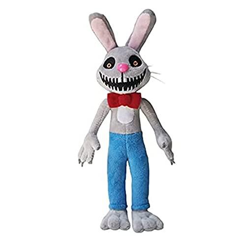 MR. Hopp's Playhouse Peluche Carino coniglio giocattoli Bunny Mr Hopp Soft Toys Giocattoli per bambini Cuscino per bambini Baby Compleanno Regali 28 cm