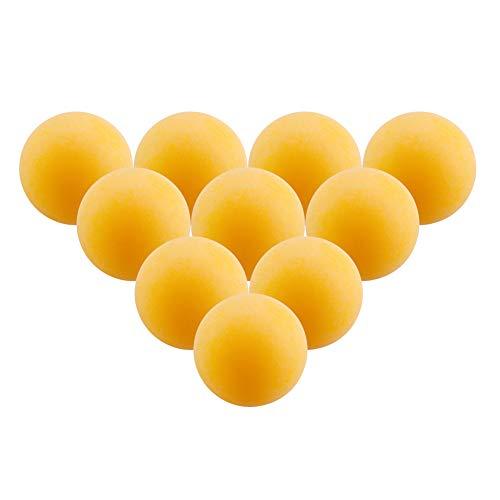 Kentop 50Stk Tischtennisbälle Training Ping Pong Bälle Gelb Tischtennis Bälle Ø40mm