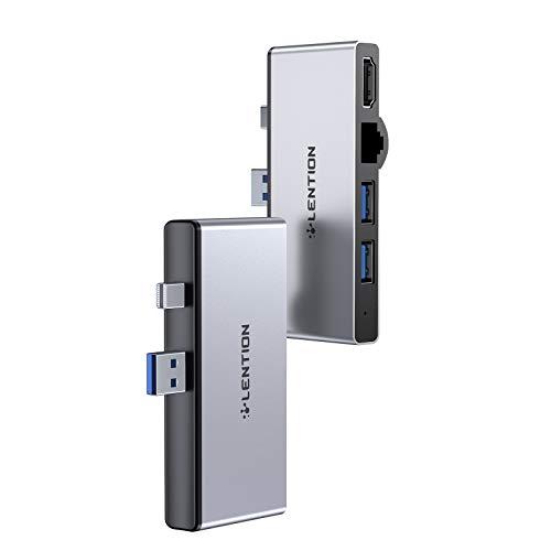 LENTION Hub USB C 6 en 1 para Surface Pro 4/5/6 solamente,...