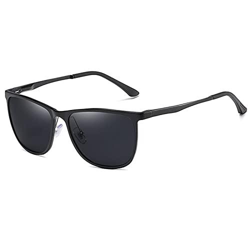 MIAOYO Moda Retro Polarizadas Gafas De Sol,Gafas para El Hombre Mujeres Diseño De Marca Lujo Señoras Verano Conducción Deportes Gafas De Sol,A