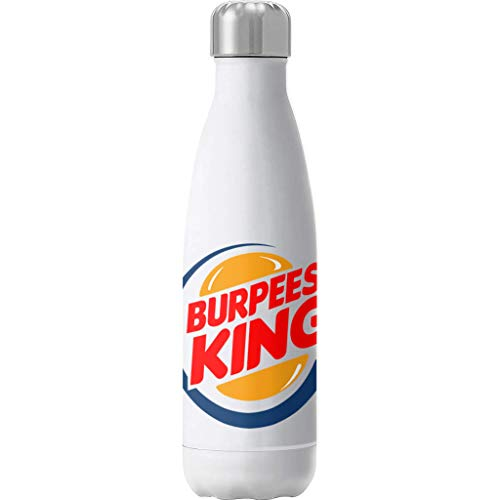 Cloud City 7 Burpees King Burger King Insulated Stainless Steel Water Bottle