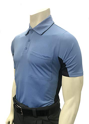 Smitty | BBS-314 | All | Major League Style | Body Flex Vented Umpire Short Sleeve Shirt | Baseball Softball | Elite Official