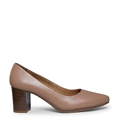 Urban S Salon Zapatos Nude con tacón Madera