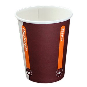 1000 Hartpapierbecher, Kaffeebecher, Coffee to go Becher, 0,2l