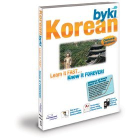 Byki Korean Language Tutor Software & Audio Learning CD-ROM for Windows & Mac