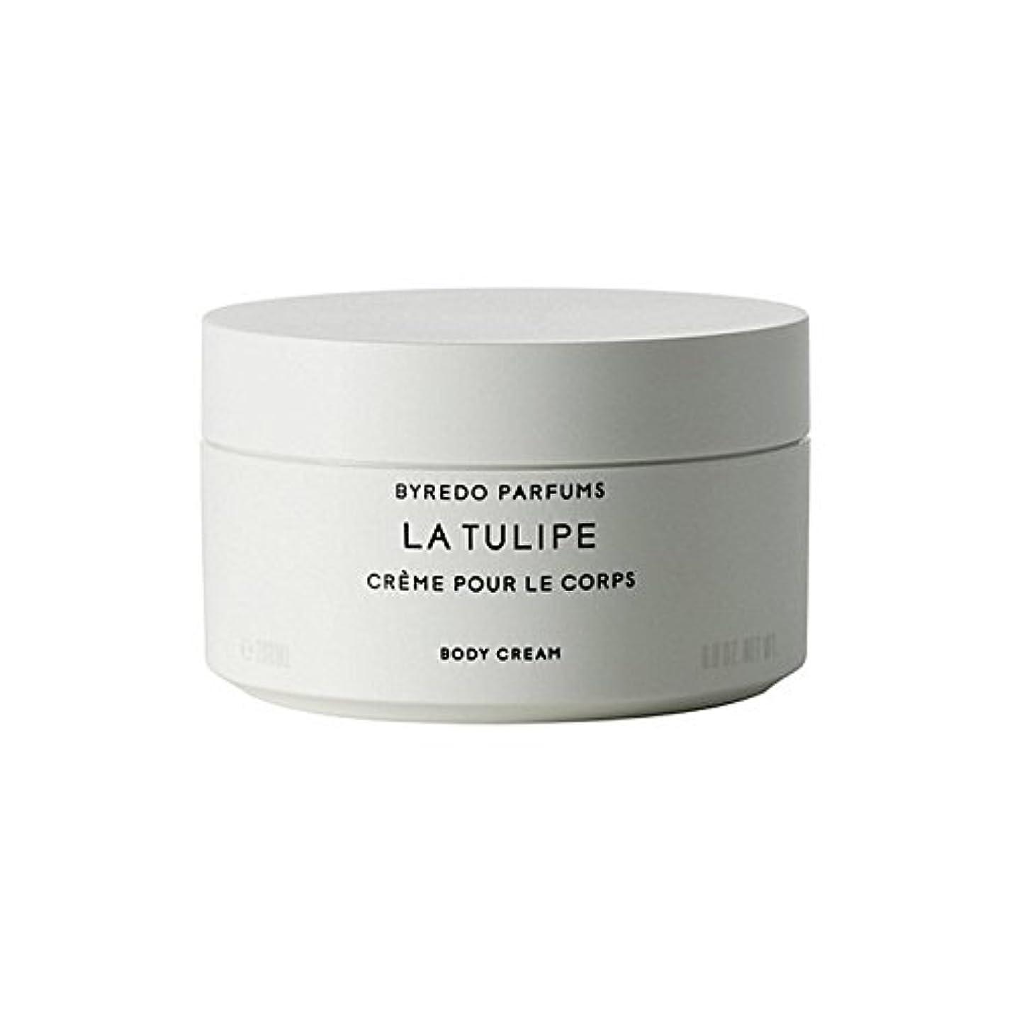 桃落ち込んでいる修羅場ラチューリップボディクリーム200ミリリットル x4 - Byredo La Tulipe Body Cream 200ml (Pack of 4) [並行輸入品]