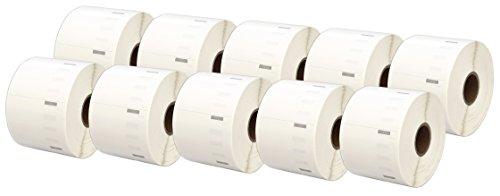 Printing Saver 10x 11354 57 x 32 mm Vielzwecketiketten (1000 Stück/Rolle) kompatibel für Dymo LabelWriter 310 320 330 4XL 400 450 Turbo/Twin Turbo/Duo & Seiko SLP Etikettendrucker