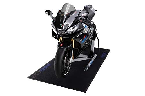MAX2H.COM Motorrad Teppich/Werkstatt Matte, schwarz