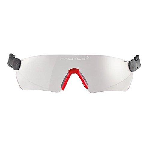 Protos integrale Schutzbrille für Helmsystem, Farbe:klar