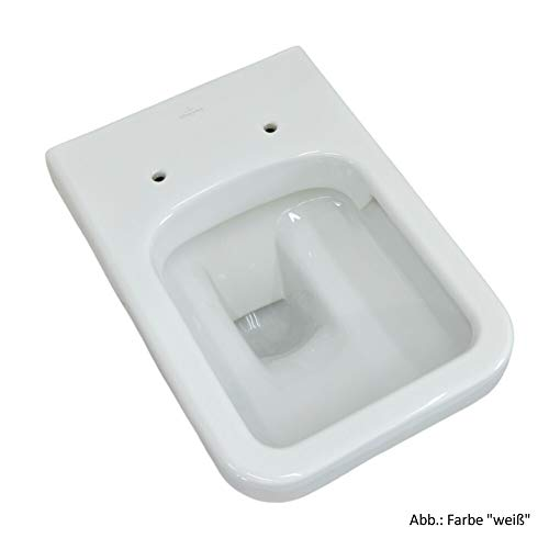 Villeroy & Boch Wand-WC Combi-Pack Architectura PLUS, DirectFlush, Spülrandlos C-plus