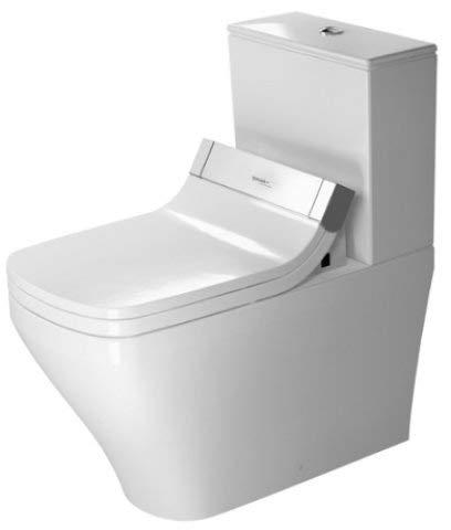 Duravit Stand-WC DuraStyle Kombi (ohne Deckel), ohne Spülkasten 720 mm für SensoWash C (ohne Deckel) mit verdecktem Anschluß, weiss, 2156590000