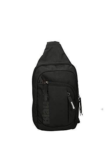Blauer USA Collezione Pocket Line Zaino Monospalla, Nero, BLZA00665T
