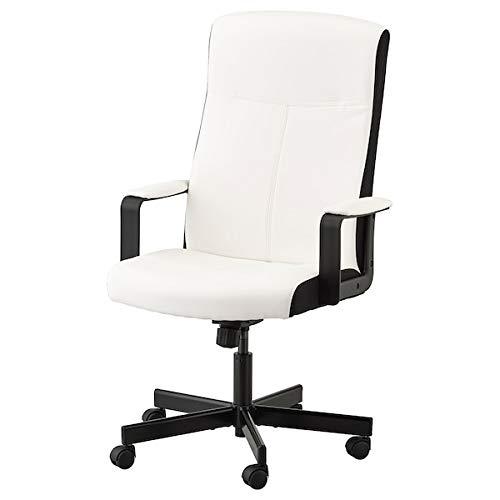 UK Bargain Seller Millberget Drehstuhl, kimstad weiß, 65 x 123 x 52 cm, langlebig und pflegeleicht. Schreibtischstühle für zu Hause. Schreibtischstühle. Möbel. Umweltfreundlich.