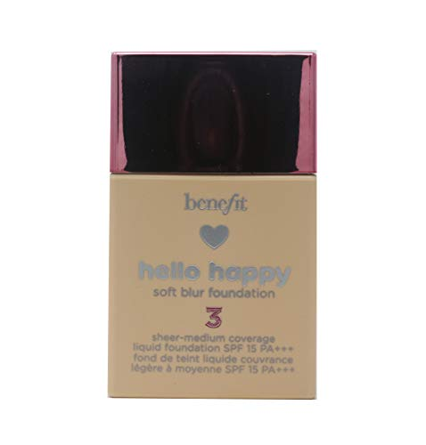 Benefit Cosmetics Hello Happy Soft Blur Foundation Shade 3