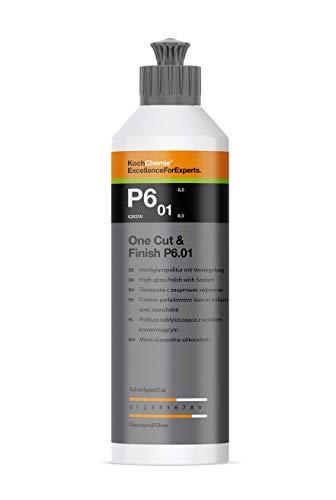 Koch Chemie One Cut & Finish P6.01 250 ml Hochglanzpolitur mit Versiegelung Autopolitur