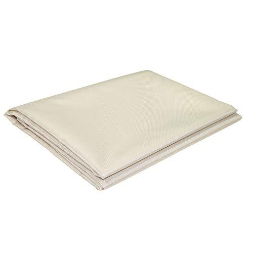 sunprotect 12501 Sonnensegel für Seilspann-Markise, 2,7 x 1,4 m, Sonnenschutz für Pergola Wintergarten Terrasse, beige