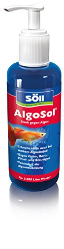 Söll 41400 AlgoSol Aquarienpflege gegen Algen im Aquarium 500 ml - hocheffektives Aquarienpflegemittel Algenmittel mit Lichtfilter gegen Grünalgen Bartalgen Pinselalgen Blaualgen