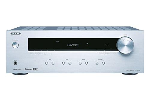 ONKYO TX-8220 100W 2.1channels Stereo Silver AV receiver - AV receivers (100 W, 2.1 channels, stereo, 140 W, 120 W, 80 W)