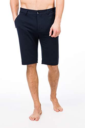 super.natural Lockere Herren Shorts, Mit Merinowolle, M TRAVEL SHORTS, Größe: L, Farbe: Dunkelblau