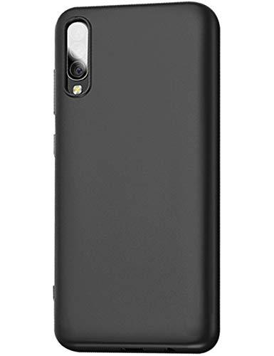 Compatible con Samsung Galaxy A70 Funda Silicone Anti-Choque Anti-Rasguño Arañazos Anti-Estático Carcasa Protección Resistente Ultrafino Acabado Mate Case UltraSlim Cubierta de TPU Silicona Caso.