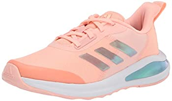 adidas Fortarun Running Shoe Haze Coral/White/Grey 10.5 US Unisex Little Kid