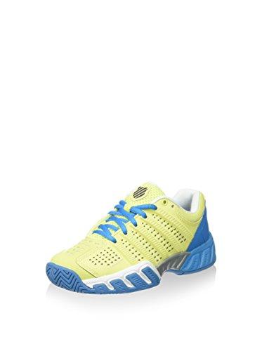 K-Swiss K-Swiss Unisex-Kinder Ks Bigshot Light 2.5 Sneaker, gelb/blau, 33 EU