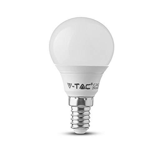 LED EEC: A+ (A++ - E) V-TAC VT-2156 7357 E14 Puissance: 5.5 W blanc chaud 5.5 kWh/1000h