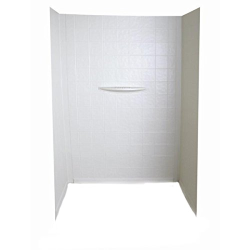 "Bathtub Wall Surround; 24"" x 36"" x 62"" (White)"