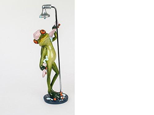 Formano 1 Frosch unter der Dusche mit Duschhaube