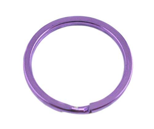 Sadingo Anneaux porte-clés/20 STK./Ø 2,5 cm/Violet
