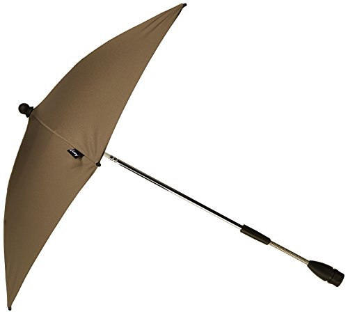 Quinny 72404870 - Sombrilla con protección UV para sillas de paseo Buzz, Speedi, Senzz, Zapp Xtra y Zapp, color marrón
