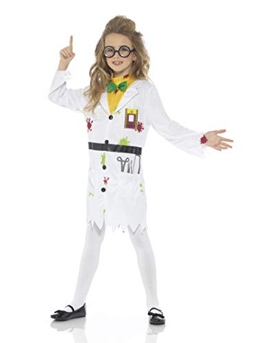 Mad Scientist Girl Costume Small Size