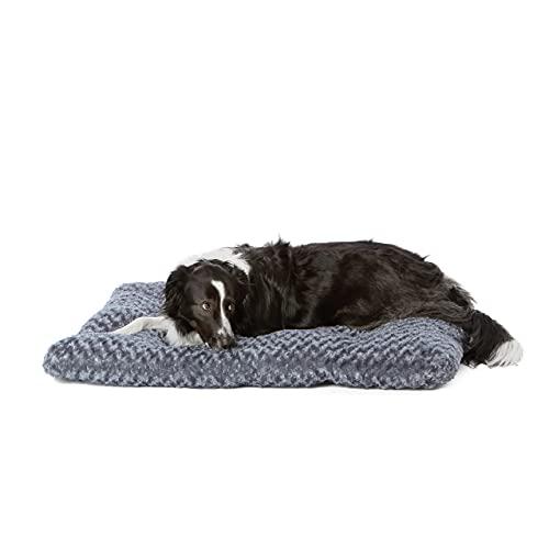 Amazon Basics - Haustierbett - 1 m, graue Wirbel